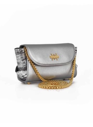 Aura Clutch - Duotone : Silver