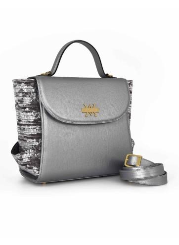 Aura Medium - Duotone : Silver