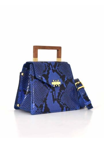 The Spur Bag - Blue Black