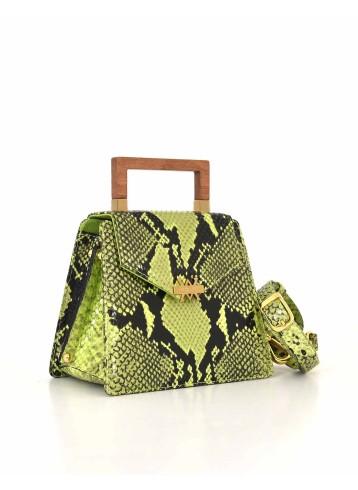 The Spur Bag - Vivid green and Black