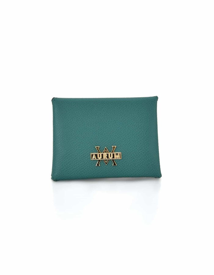 Card Holder Hanging - Green