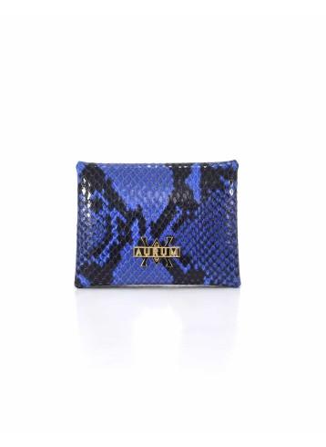 Card Holder Hanging - Python Blue Black