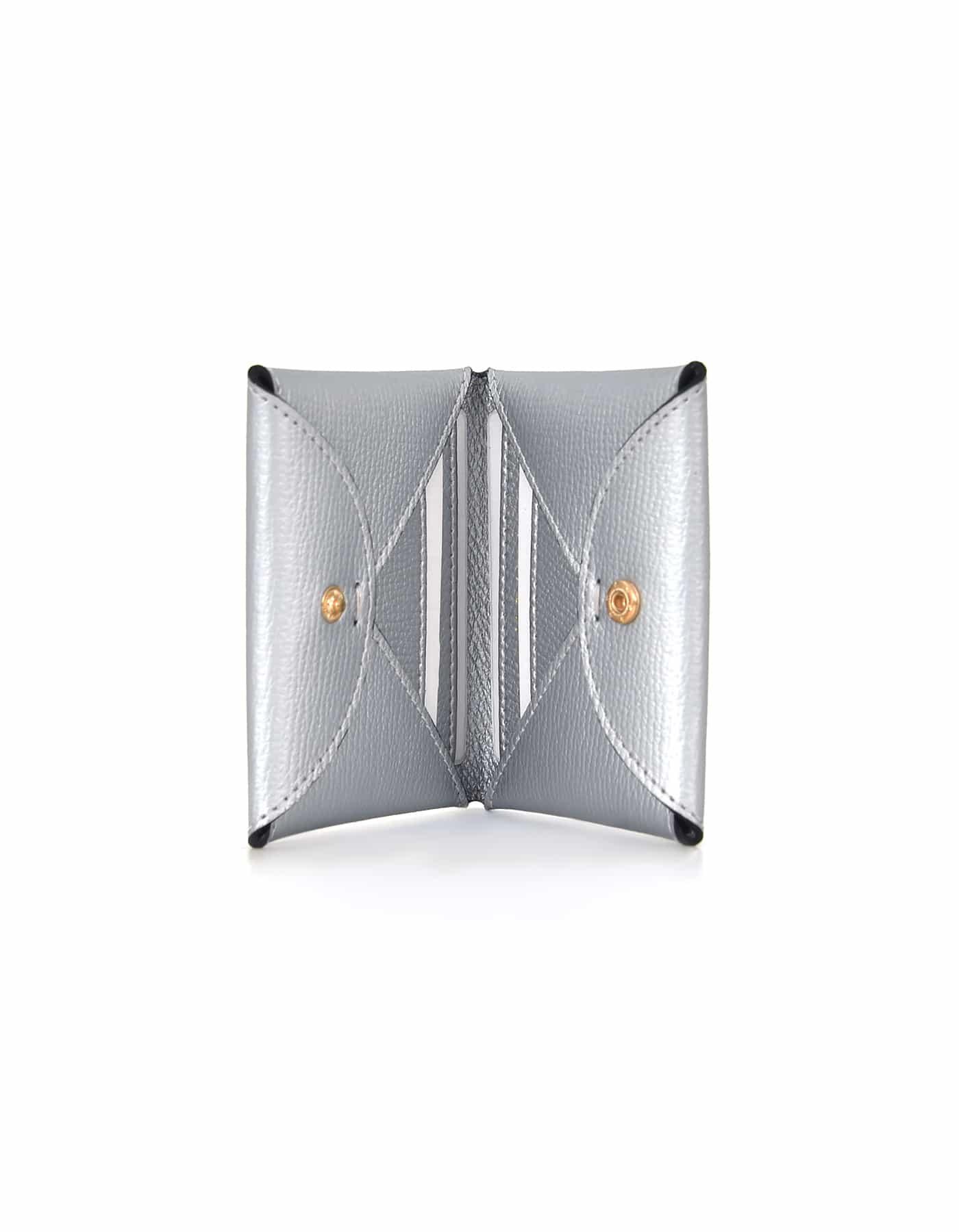 Card Holder Hanging - Silver
