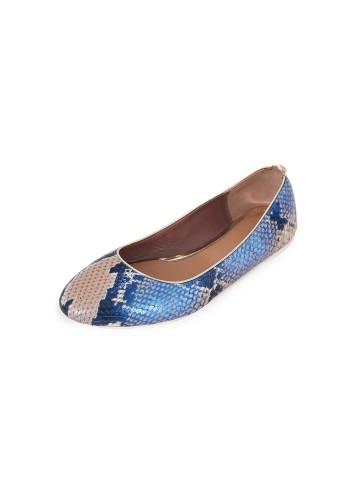Ballerinas Python - Blue Beige