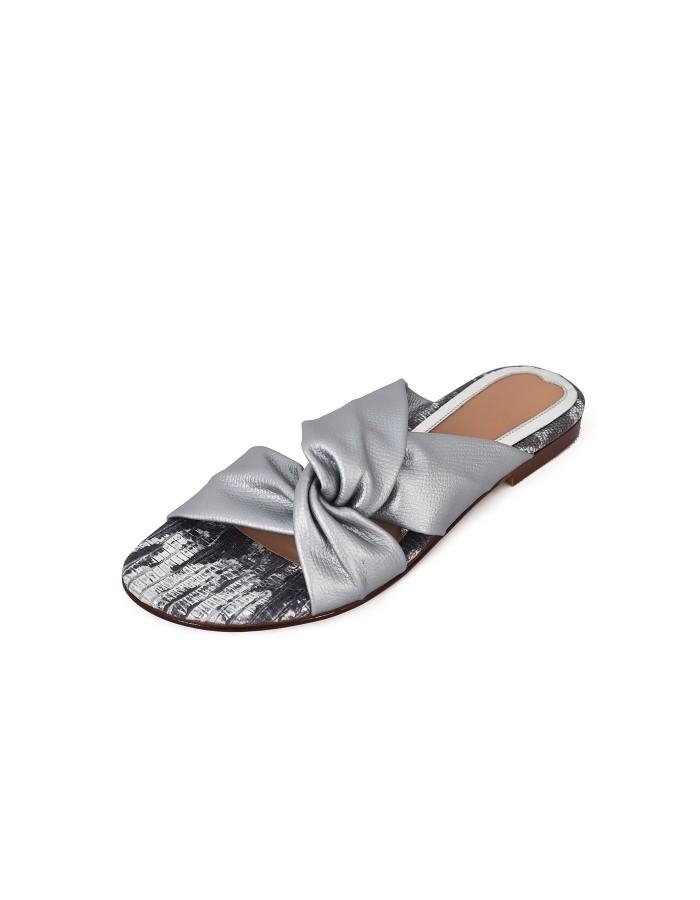 Criss Cross Flats - Silver